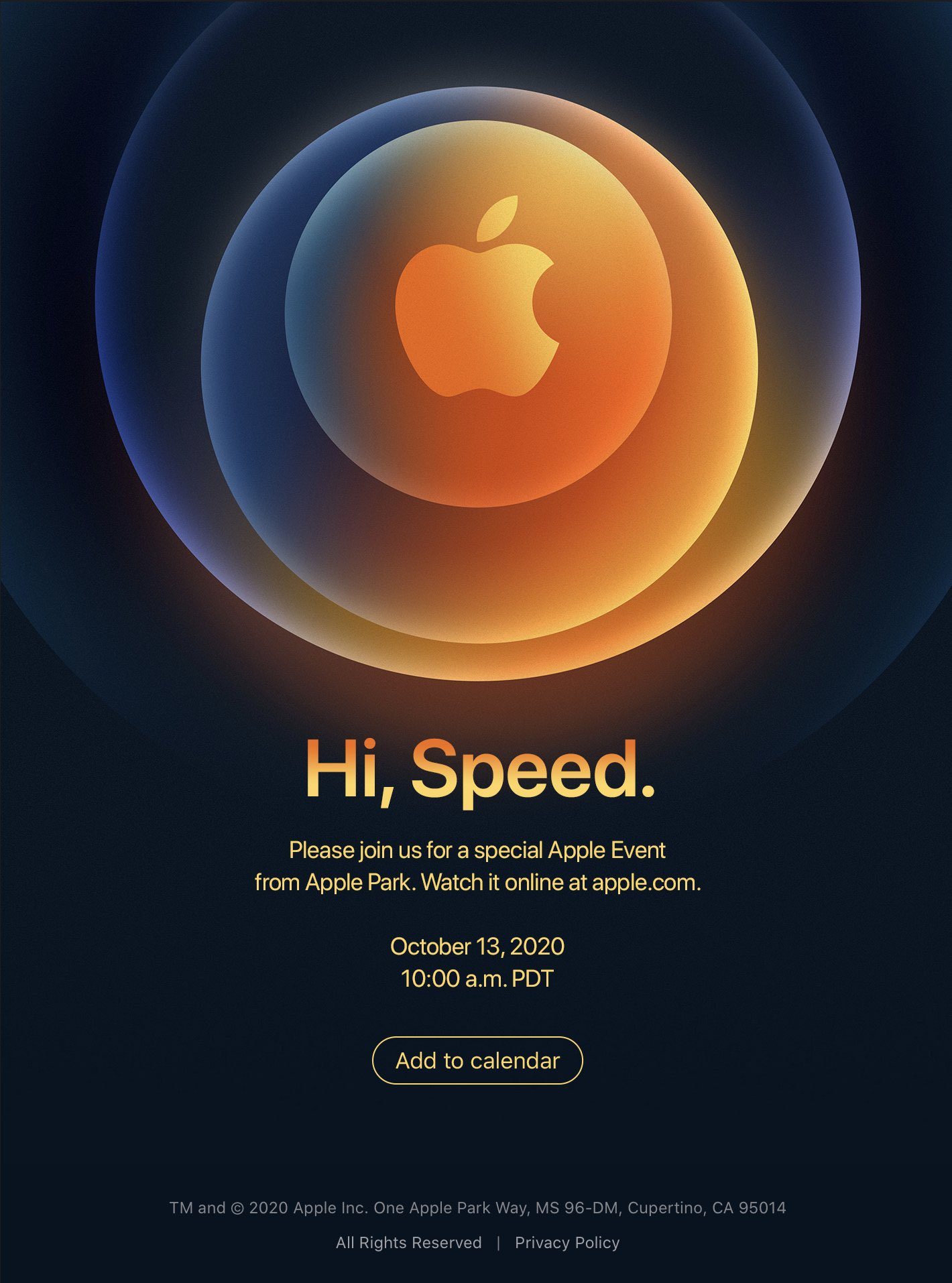 iPhone 12 etkinliği