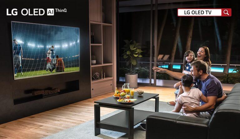 LG TV AR TV'nin Evde Nasıl Duracağını Gösteriyor
