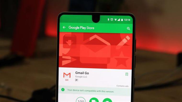 Gmail Go herkesin indirime sunuldu!