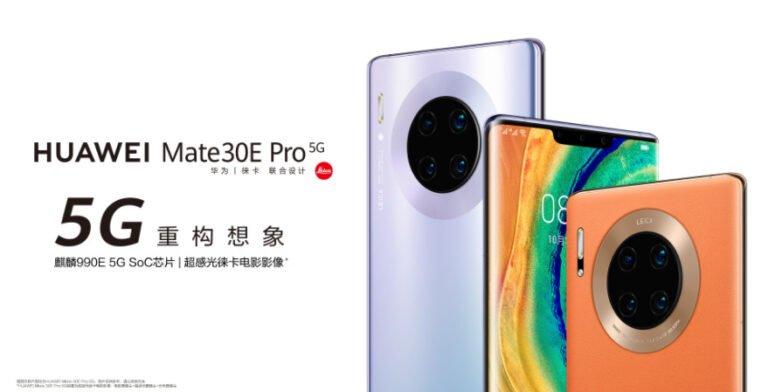 Huawei Mate 30E Pro tanıtıldı! Bu neyin nesi?