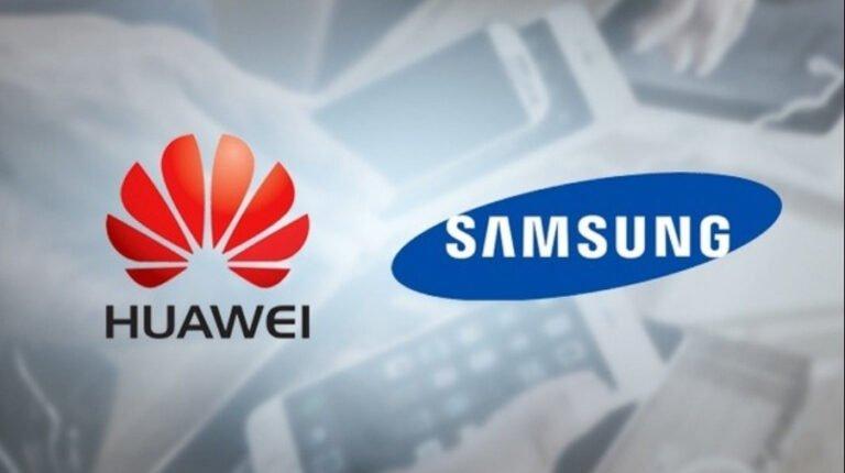 Samsung ile Huawei arasındaki buzlar ediyor