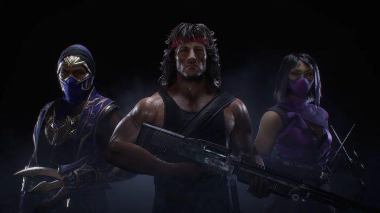 Mortal Kombat 11 Rambo ile daha kanlı olacak!