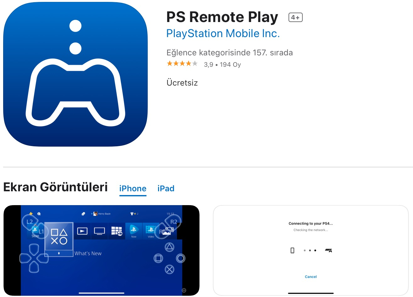 PS5 için ilk güncelleme