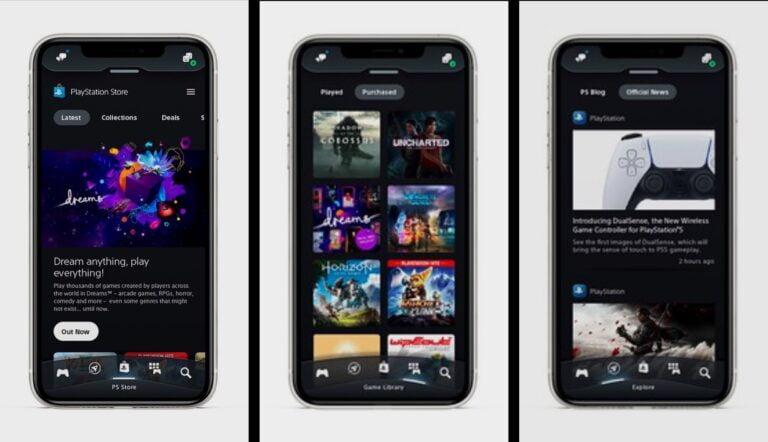 PlayStation App evrim geçirdi iOS ve Android için çıktı