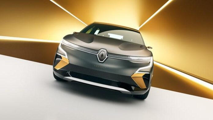 Renault Megane elektrikli konsept
