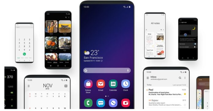 Galaxy S9 için One UI 2.5