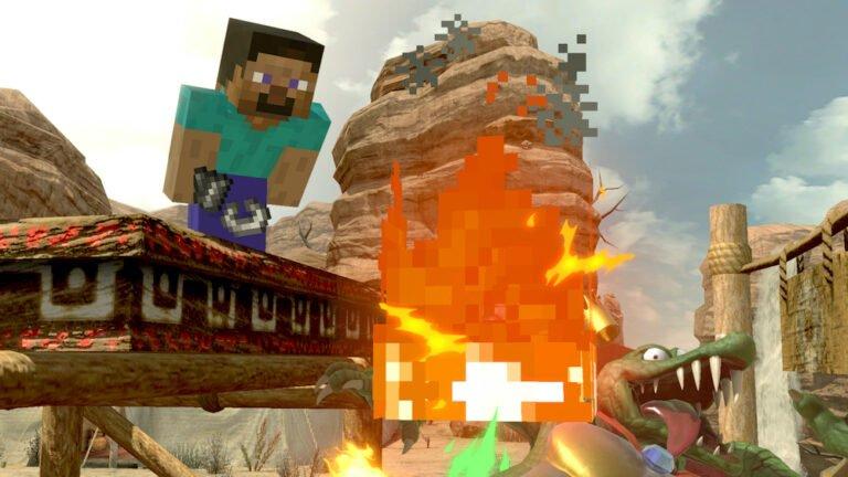 Steve ve Alex Super Smash Bros. Ultimate kadrosunda!