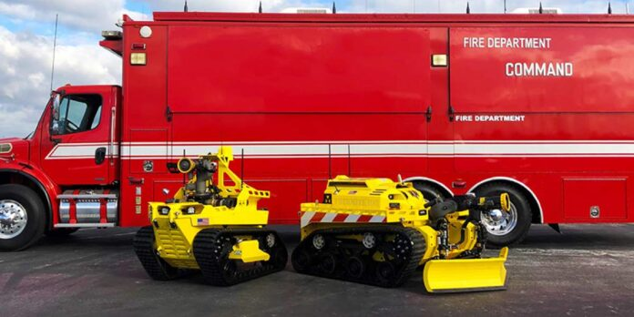 İtfaiyeci robotlar