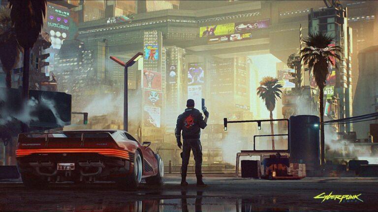 Cyberpunk 2077 haritası sızdı