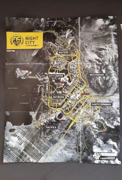 cyberpunk 2077 haritası