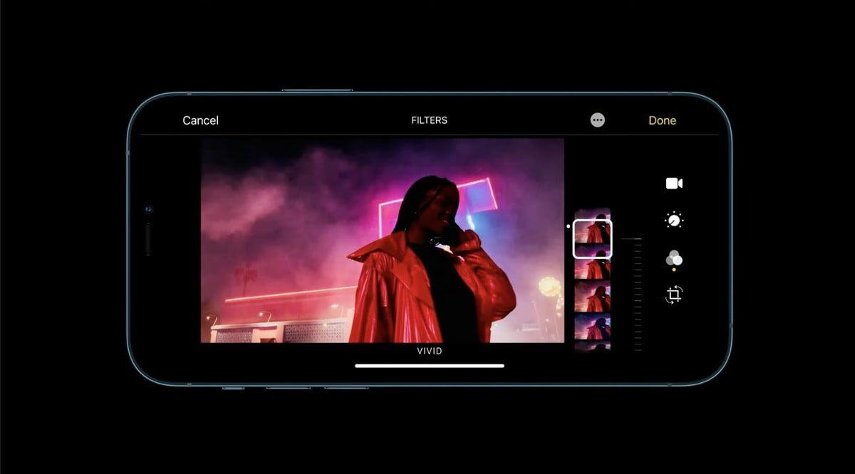 iMovie HDR