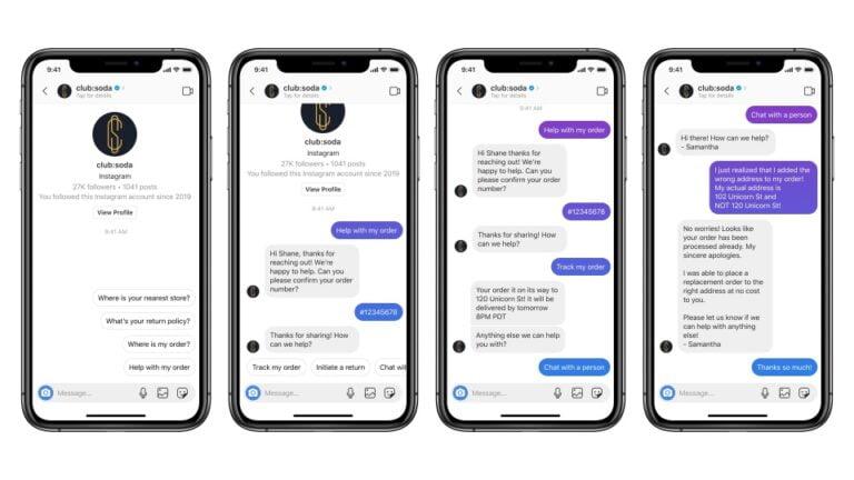 Instagram müşteri hizmetleri botlarının istilasına uğrayacak