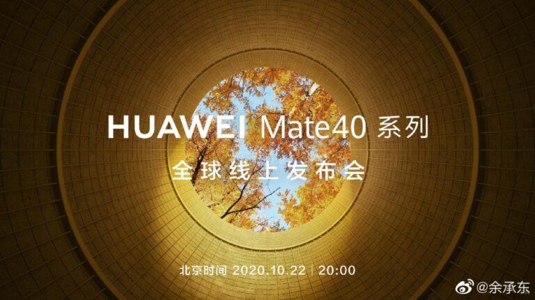 Huawei Mate 40 modelleri için tanıtım tarihi açıklandı