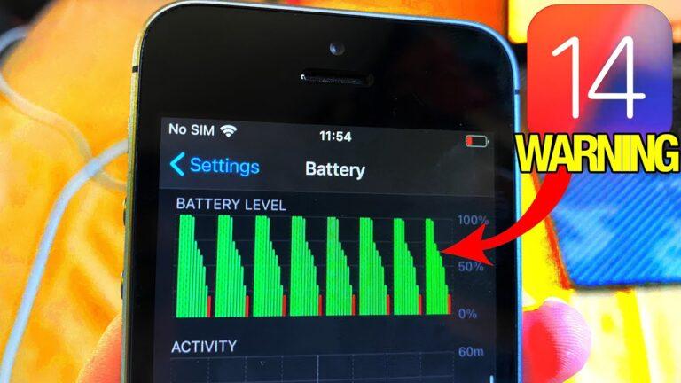 iOS 14 batarya sorunu için ilginç çözüm! Apple dalga geçiyor!