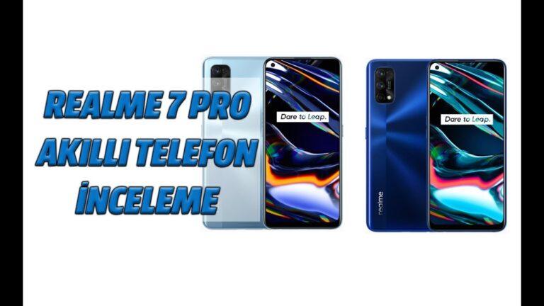 Realme 7 Pro akıllı telefon video incelemesi
