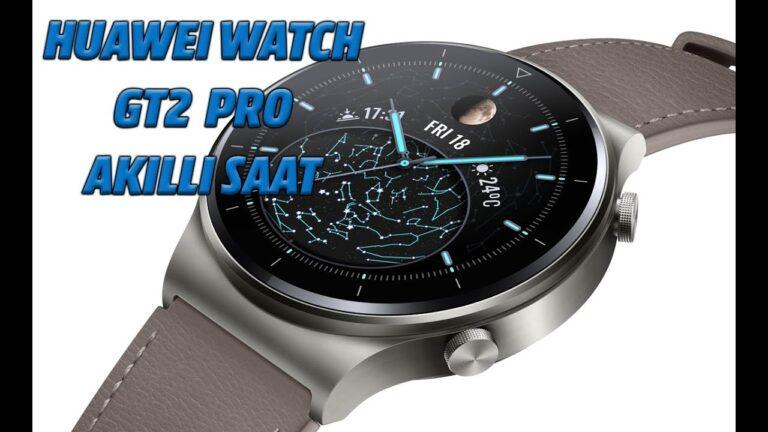 Huawei Watch GT 2 Pro akıllı saat ile yüzden fazla spor moduna kavuşun
