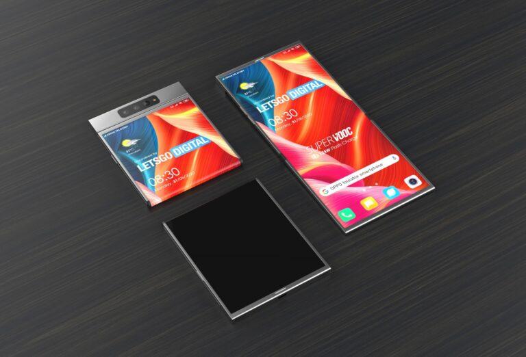 Oppo katlanabilir ekranlı telefon için kolları sıvadı