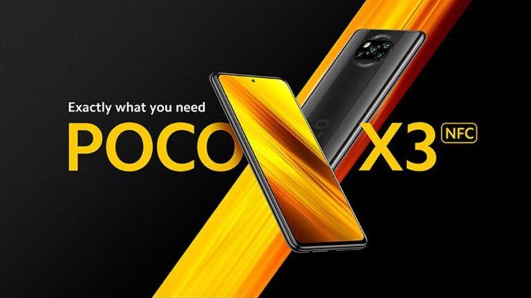 Türkiye'de satılan POCO X3 için yeni güncelleme