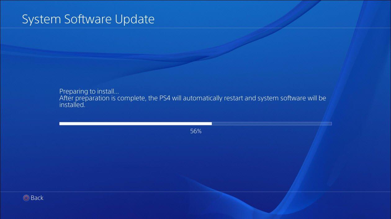 PlayStation 4 8.00 güncellemesi