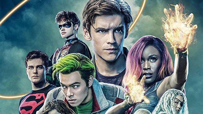 Titans dizisi 3. sezonun startını verdi