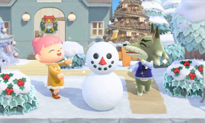 Animal Crossing New Horizons kış güncellemesi