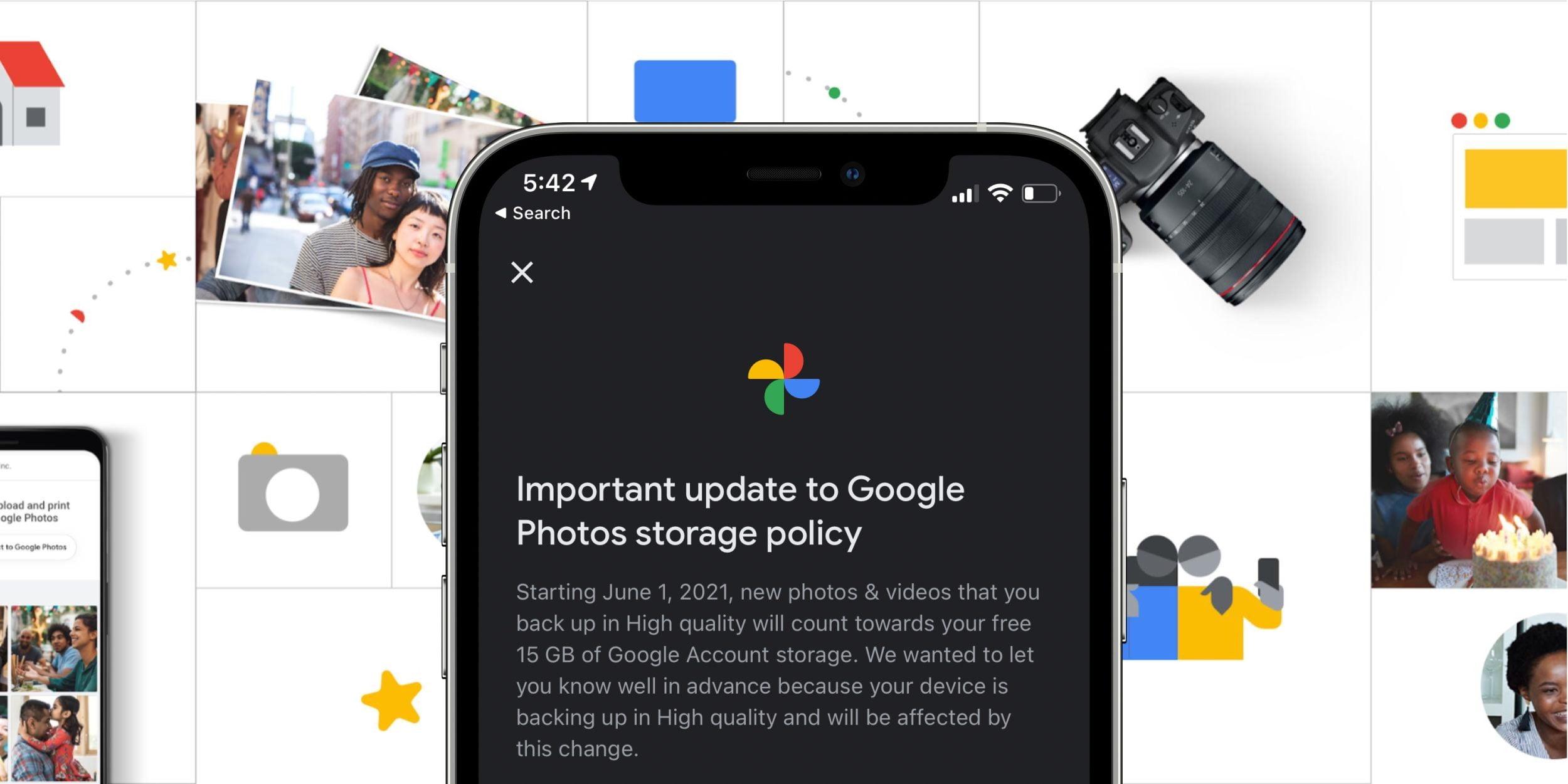 Google Fotoğraflar ücretsiz