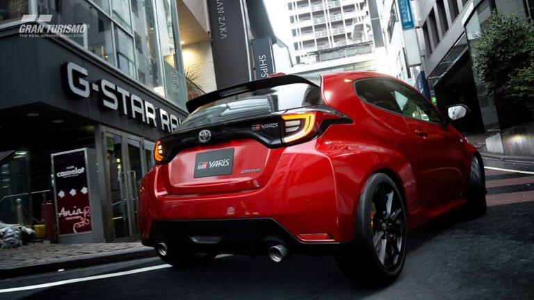 Gran Turismo Sport Toyota GR aracına kavuştu
