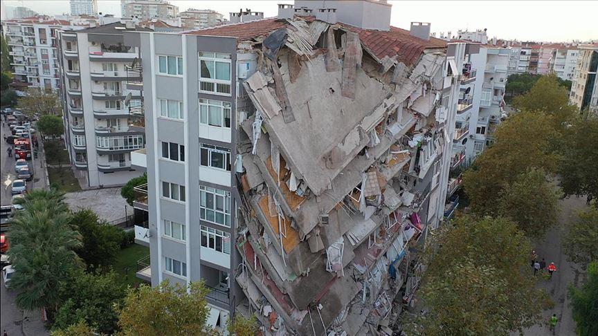İzmir fay hattı deprem
