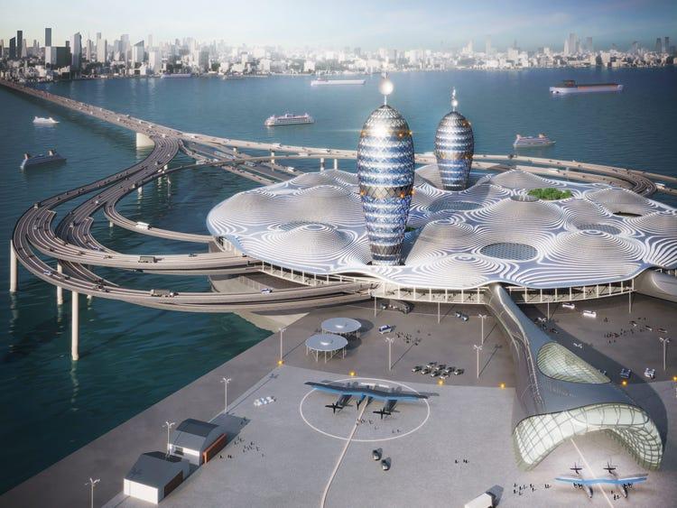 Japon mimarlar konsept uzay istasyonu ile ağızları açıkta bıraktı