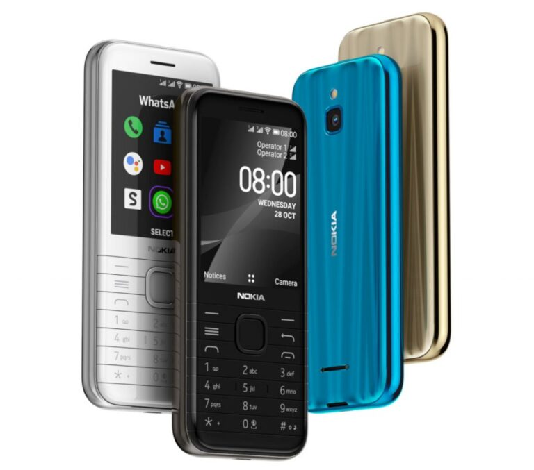 Nokia 6300 ve Nokia 8000 tanıtıldı