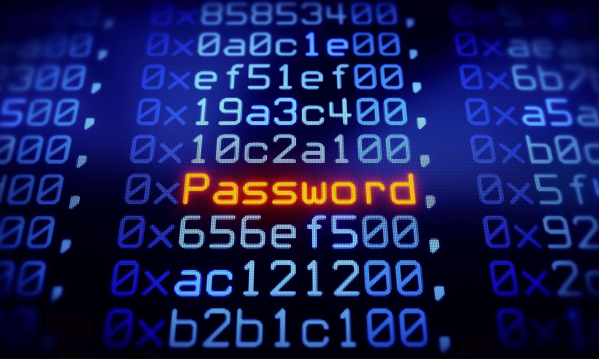 en çok kullanılan şifre