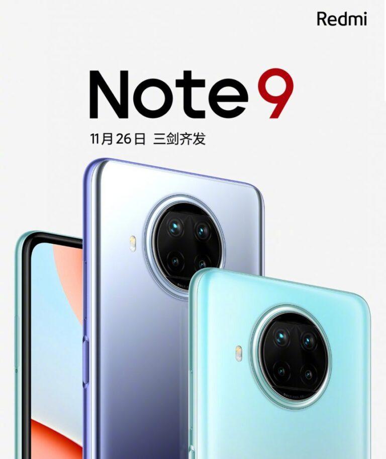 Yeni Redmi Note 9 tanıtım tarihi açıklandı