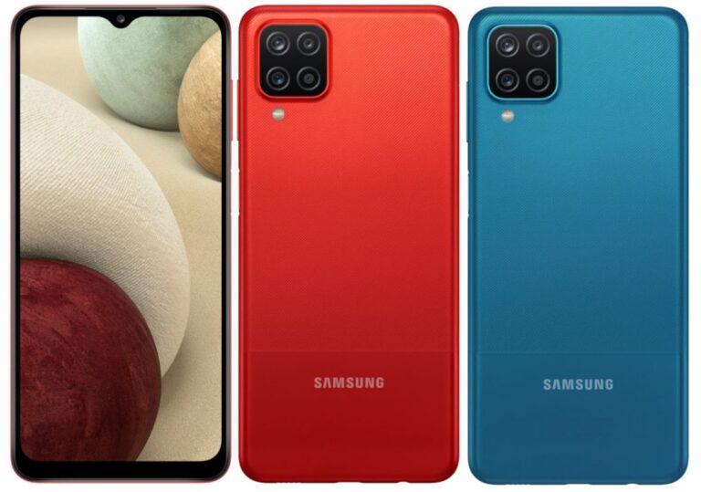 Samsung Galaxy A12 resmi olarak tanıtıldı