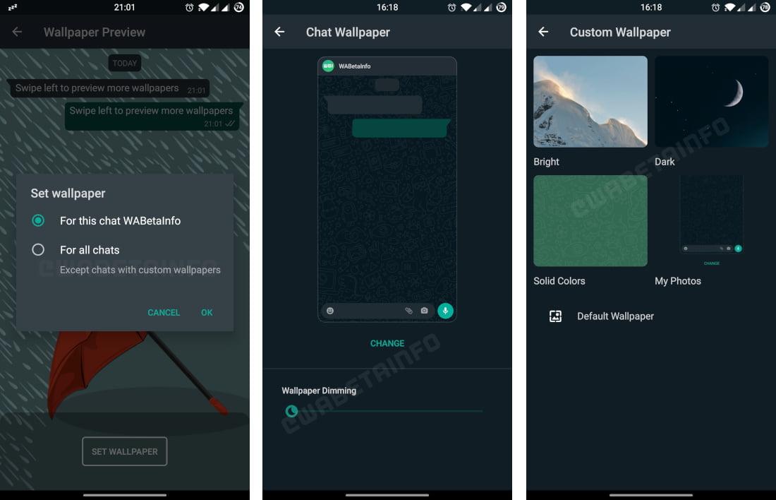 WhatsApp yeni özellikler