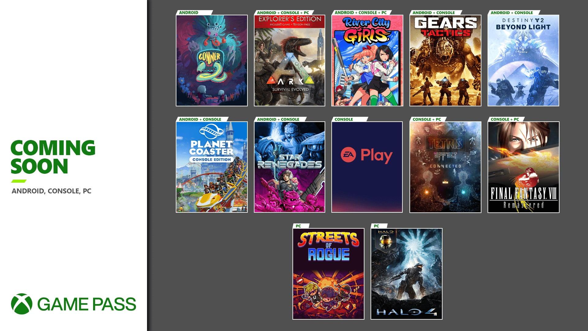 Xbox Game Pass Kasım