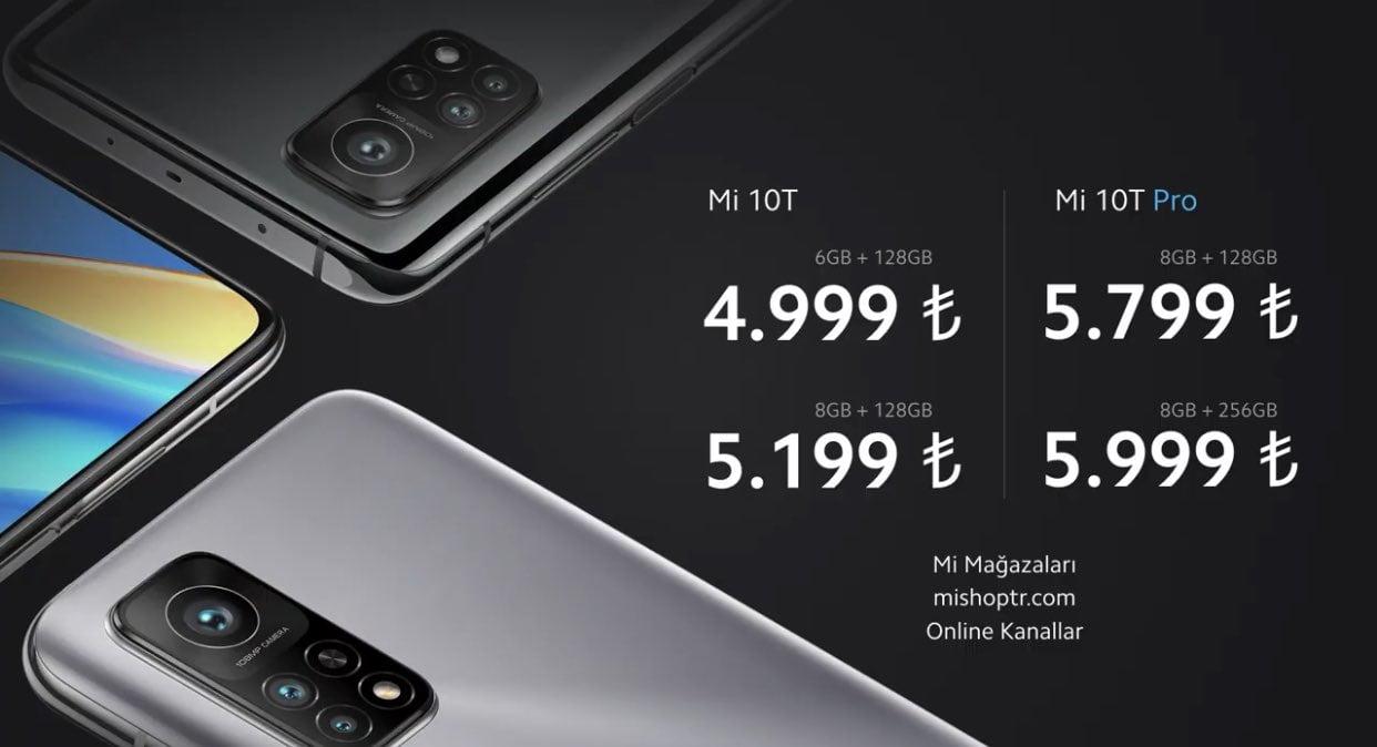 Xiaomi Mi 10T Türkiye