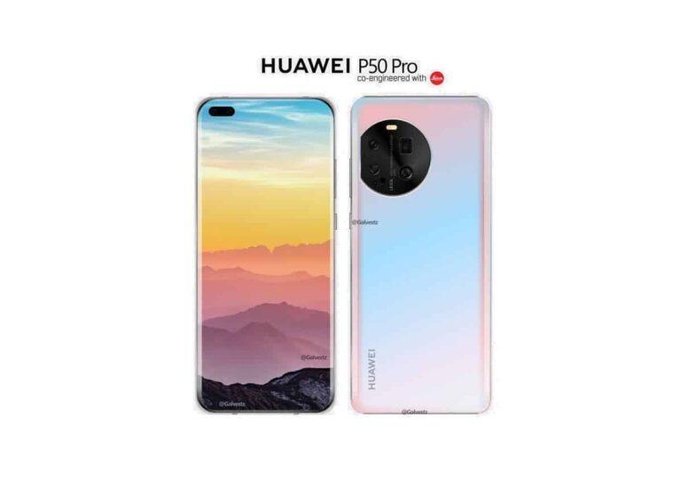 Huawei P50 Pro ilk görselleri ile karşımızda