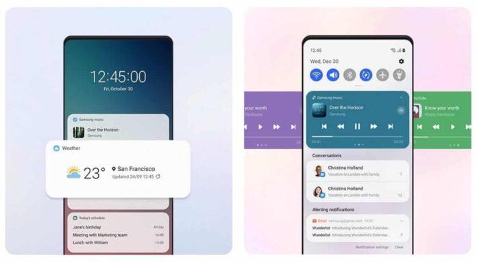 Android 11 tabanlı One UI 3.0