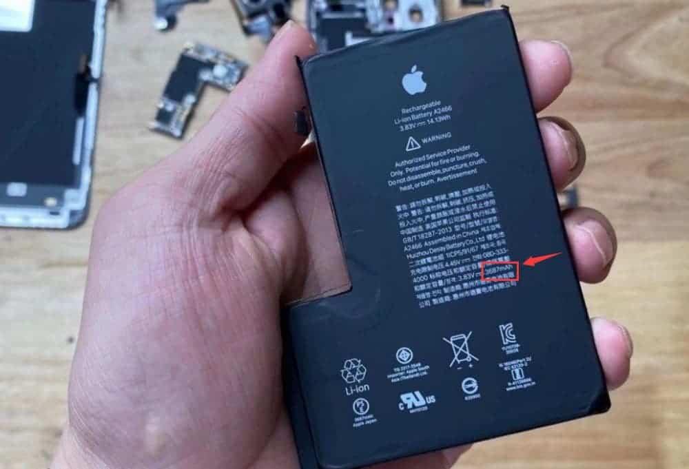 iPhone 12 Pro Max batarya