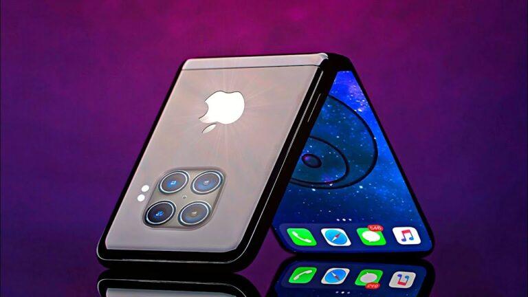 Katlanabilir ekranlı iPhone geliştirme aşamasında