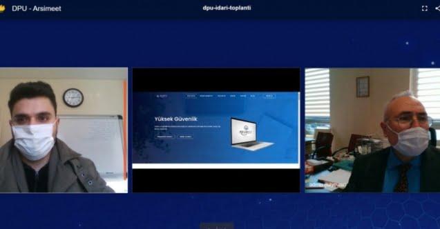 Dumlupınar Üniversitesi video konferans