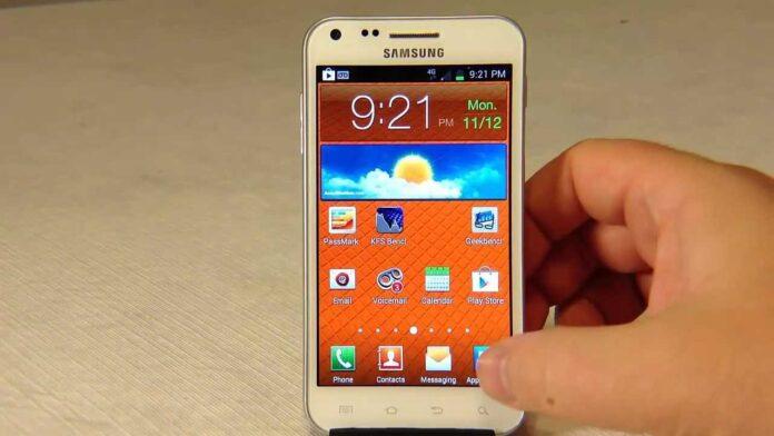 Galaxy S2 için Android 11