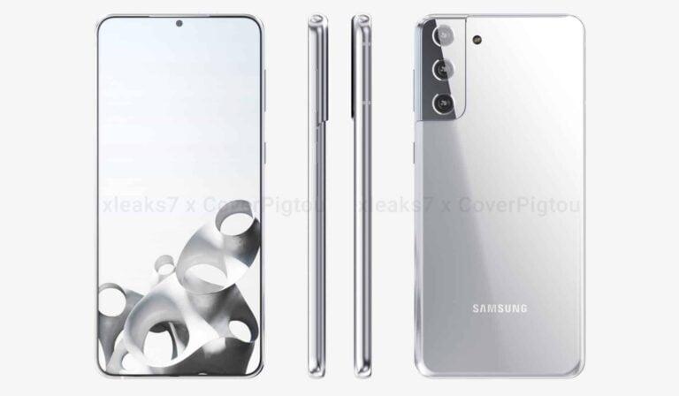 Galaxy S21 Plus yeni rengi ile görüntülendi