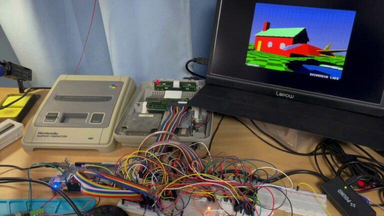 Ray Tracing 30 yıllık konsol olan SNES'e geldi