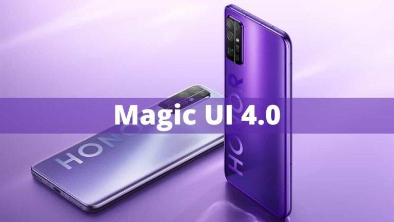 Honor 20 ve Honor V20 için Magic UI 4 çıktı