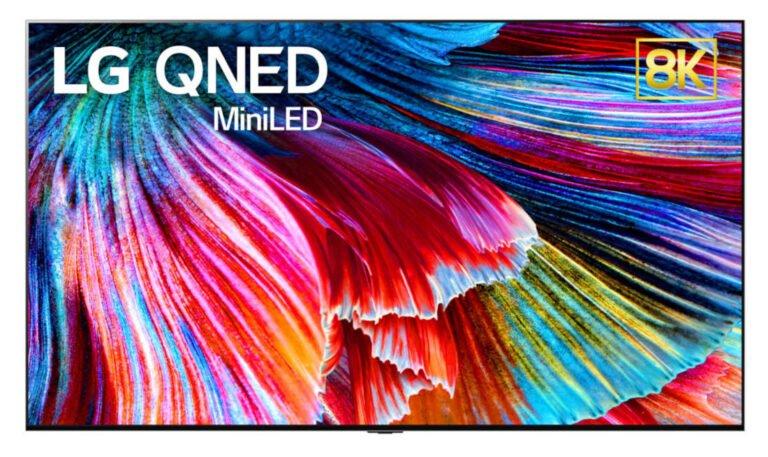 LG 8K QNED TV modellerini tanıtacak