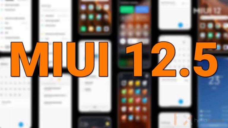 MIUI 12.5 için çıkış tarihi açıklandı