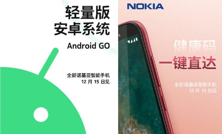 Nokia Android 10 Go Edition geliyor