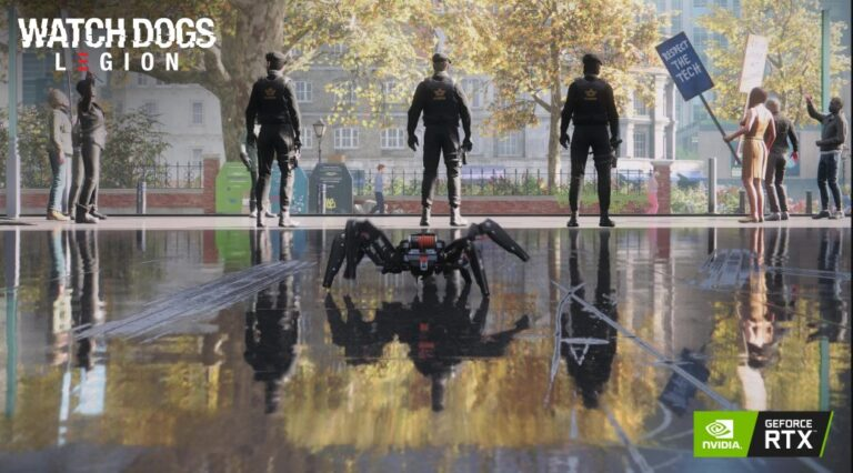 Watch Dogs Legion AMD'de Ray Tracing destekliyor