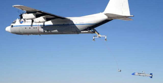 ABD droneları havadan toplayacak
